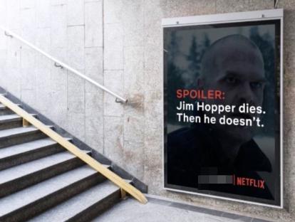 Netflix Spolier Adverts